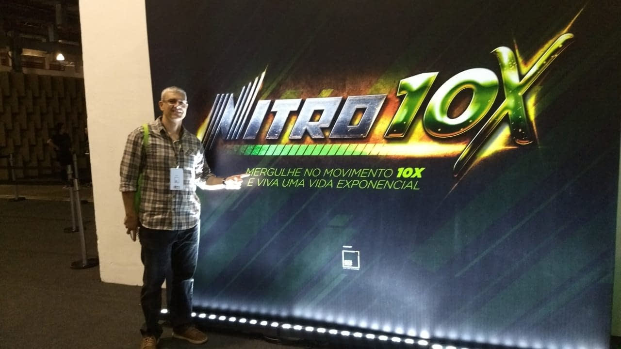 Nitro 10X primeira vez no brasil rodlopes profissional digital